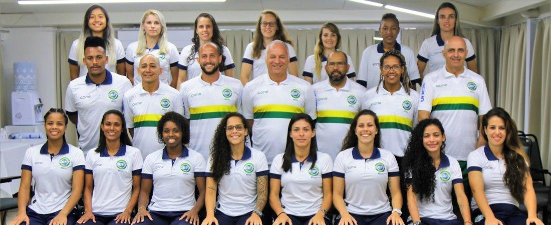 SELEÇÃO BRASILEIRA FEMININA É CONVOCADA PARA TREINOS NA CBF7