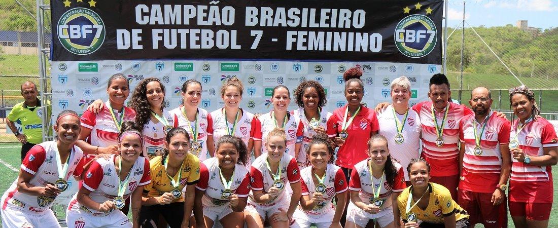 VILA NOVA É CAMPEÃO BRASILEIRO FEMININO DE 2018