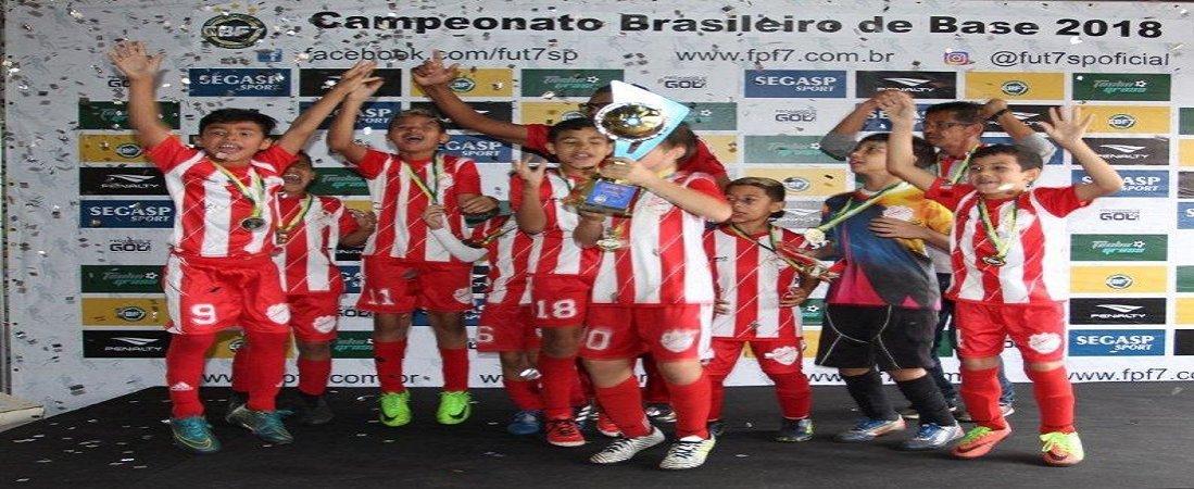 SUZANO FC É CAMPEÃO DO BRASILEIRO SUB-09