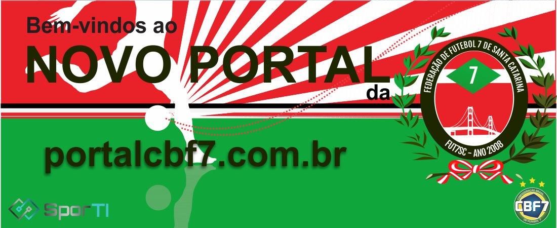 NOVO PORTAL DA FUT7SC ESTÁ NO AR