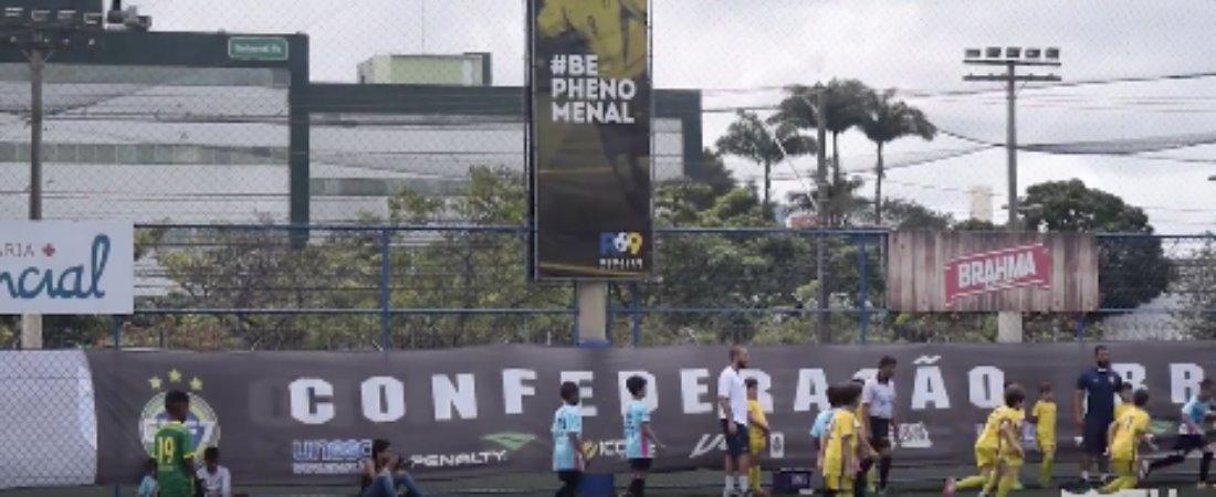 A MOLECADINHA DA GRAMA SINTÉTICA FEZ BONITO NO ESTADUAL DE FUTEBOL 7.