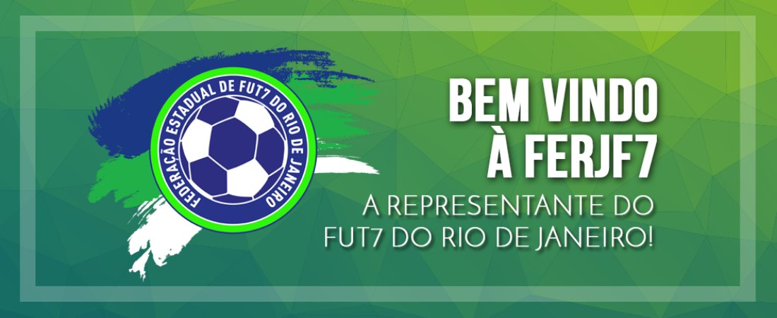A FERJF7 É A REPRESENTANTE OFICIAL DO FUT7 DO ESTADO DO RIO DE JANEIRO