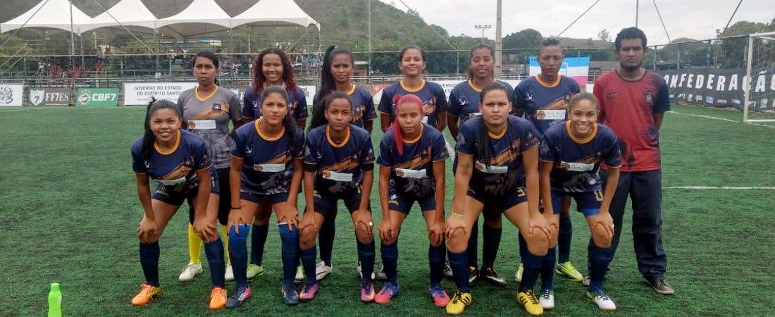 TV LEÃO FC É O PARÁ NO BRASILEIRO DE FUT7 NO ESPÍRITO SANTO