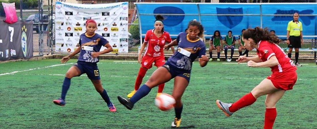 TV LEÃO FC ESTREIA CONTRA O VILA NOVA ATUAL CAMPEÃ BRASILEIRA DE FUTEBOL 7