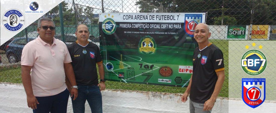 FF7PA FIRMA PARCERIA COM PROGRAMA DOMINGO ESPORTIVO DA LIBERAL AM