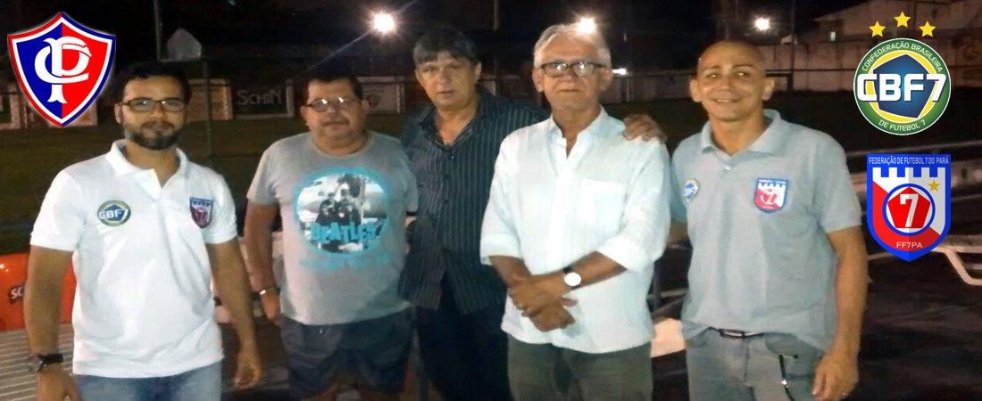 PARÁ CLUBE SAI NA FRENTE E CONFIRMA PRESENÇA NA COPA ARENA DE FUTEBOL 7