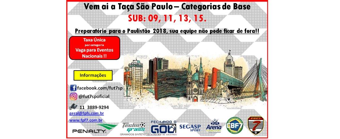 TAÇA SÃO PAULO DE BASE 2018!