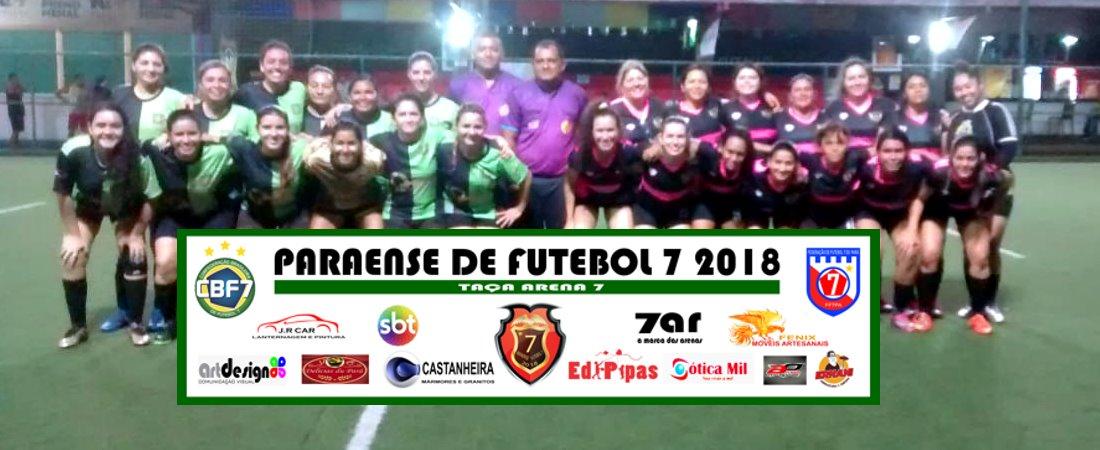 ANGELS FF VENCE DE GOLEADA O GREENVILLE FC E LIDERA A TAÇA ARENA 7