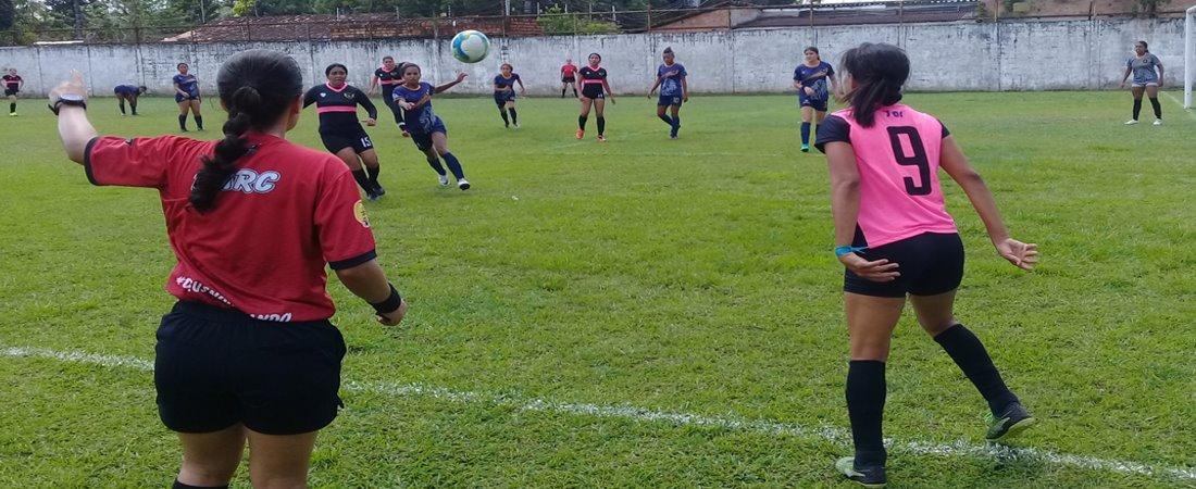 TV LEÃO FC FEMININO VENCE ANGELS F F NO RETURNO DA TAÇA ARENA 7
