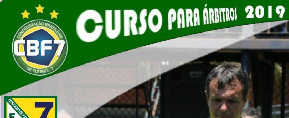 CURSO PARA ÁRBITRO OFICIAIS DE FUTEBOL 7 REALIZADO PELA FF7MT