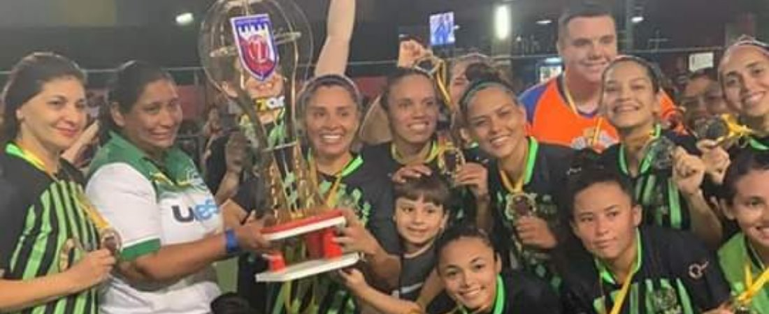 GREENVILLE FC CONQUISTA O ESTADUAL 2019 DE FUTEBOL 7