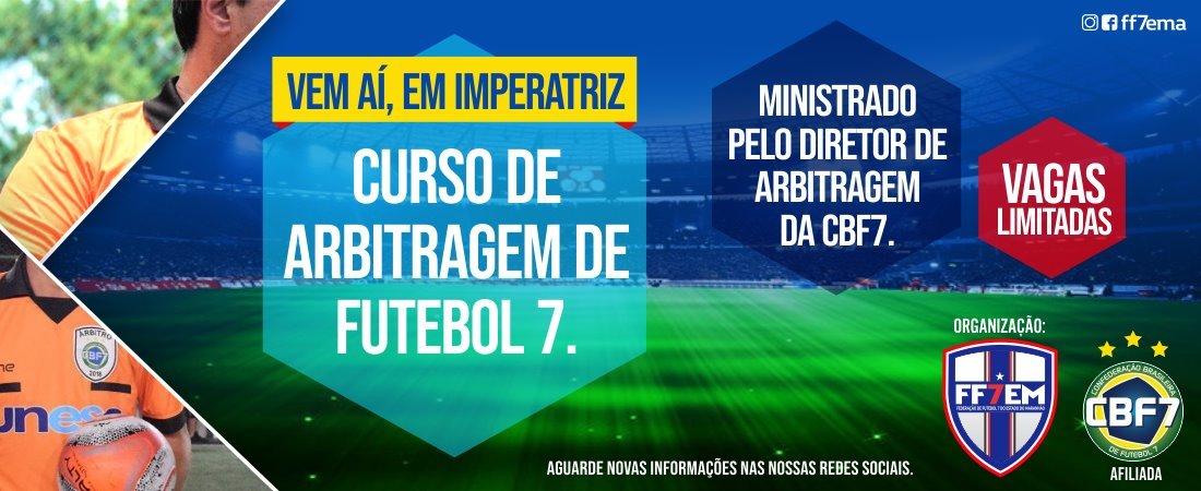CURSO DE ARBITRAGEM DE FUTEBOL 7