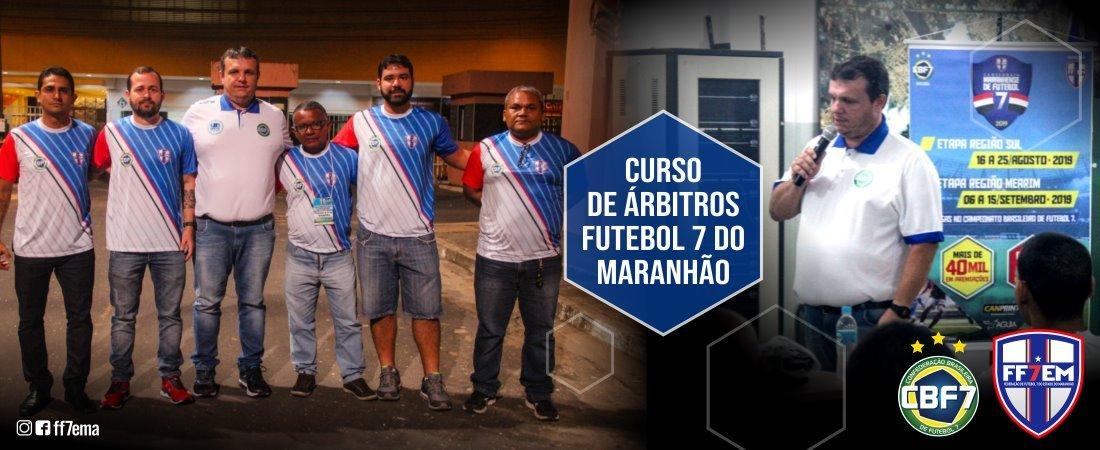 FF7EM - REALIZA COM SUCESSO TOTAL SEU 1º CURSO PARA ARBITROS DE FUTEBOL 7