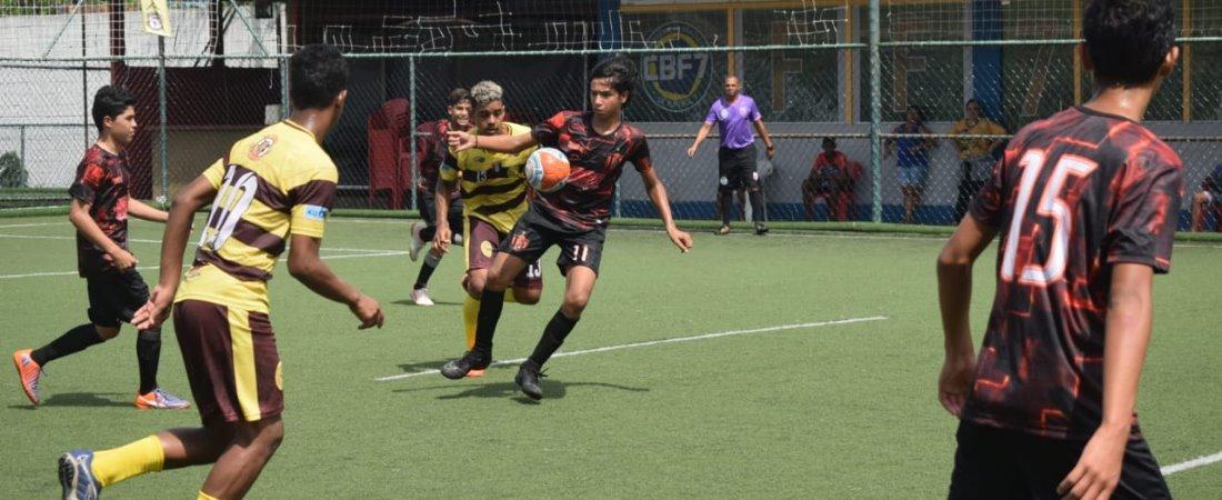 TIGRES FC SUB 15 VOLTA COM SEDE E LANÇA GOLEADA SOBRE CDMI