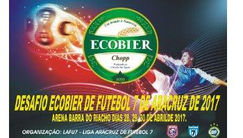 DESAFIO ECOBIER DE FUTEBOL 7 DE ARACRUZ DE 2017
