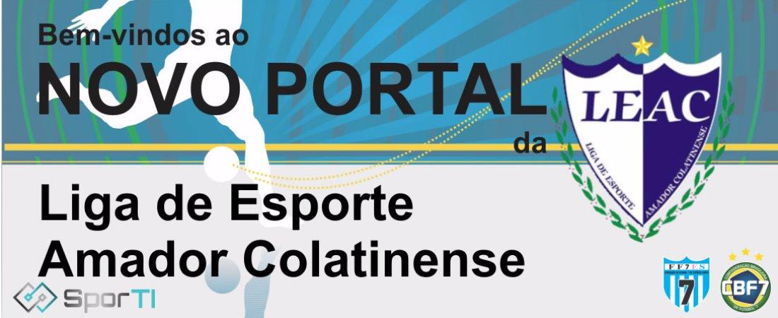 NOVO PORTAL DA LIGA DE ESPORTE AMADOR COLATINENSE ESTÁ NO AR